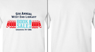 Library Book Sale Design Idea