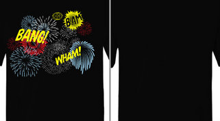 Wham Bam Bang Fireworks Design Idea