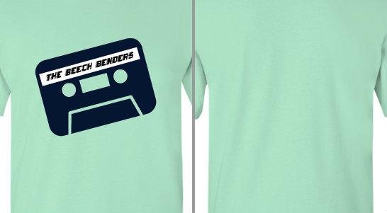 Tape Cassette Band Name Design Idea