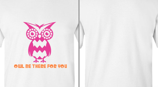 Owl Be There for You Friend Design Idea