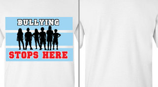 Bullying Stops Here Design Idea
