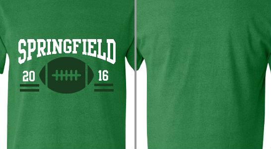 Springfield Homecoming Football Design Idea