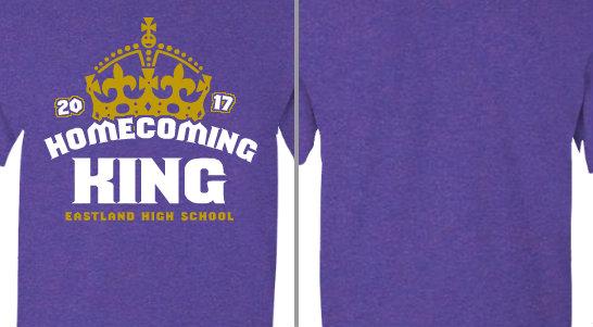 Eastland High Homecoming King Crown Design Idea