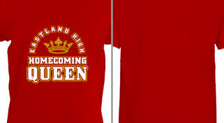 Eastland High Homecoming Queen Crown Design idea