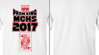 Prom King Crown Card Design Idea