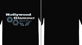 Hollywood Glamour Prom Diamonds Theme Design idea