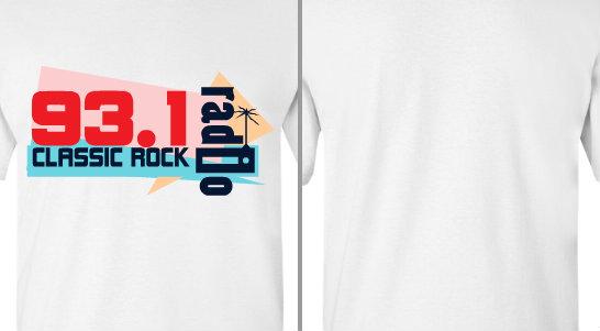 Classic Rock Radio Station Design Idea