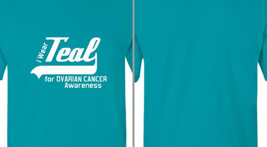 Teal for Ovarian Cancer Awareness Design Idea