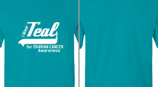 Teal for Ovarian Cancer Awareness Design Idea