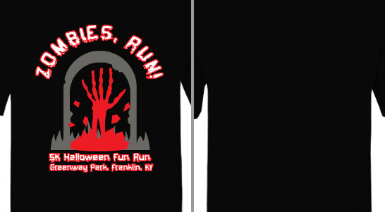 Zombies, Run! Design Idea