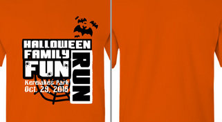 Halloween Family Fun Run Design Idea
