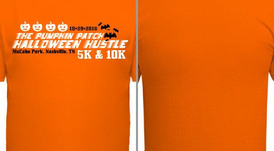 Pumpkin Patch Halloween Hustle Design Idea
