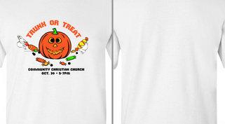 Jack o Lantern Trunk or Treat Design Idea
