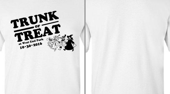 Trunk or Treat Vintage Design Idea