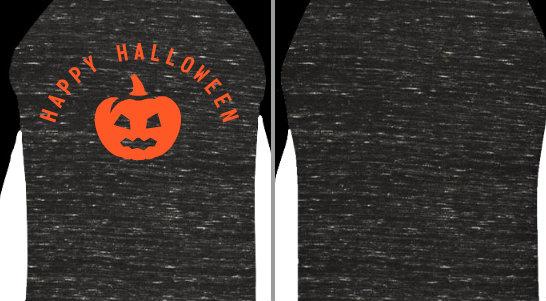 Happy Halloween Pumpkin Design Idea