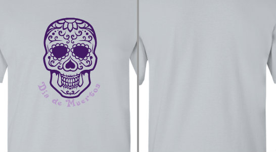 Day of the Dead Skull Design Idea