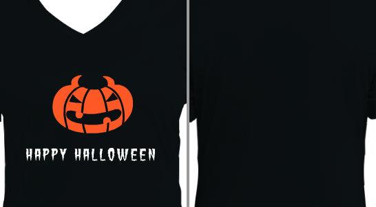 Happy Halloween Evil Jackolantern Design Idea