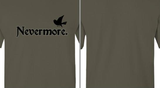 Nevermore Raven Design Idea