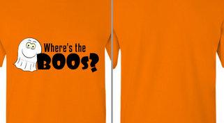 Where's the Boos Ghost Design Idea