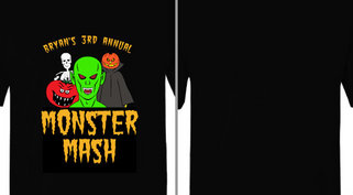 Monster Mash Halloween Party Design Idea
