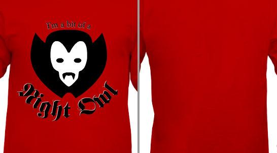 Vampire Night Owl Design Idea