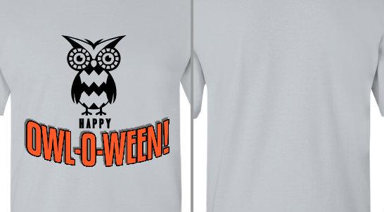 Happy Owloween Design Idea