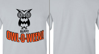 Happy Owloween Design Idea