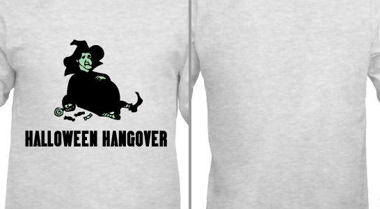 Halloween Candy Hangover Design Idea