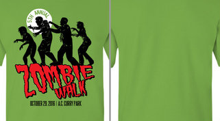Zombie Walk Design Idea