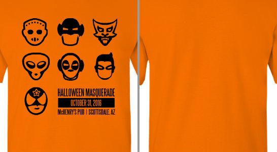 Halloween Masquerade Party Design Idea