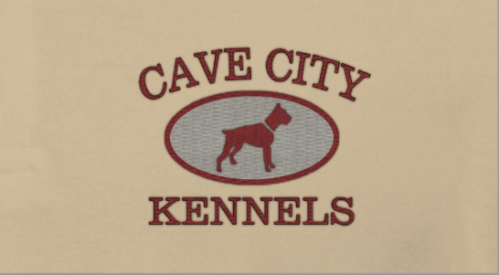 Design Idea Embroidery Dog Kennels