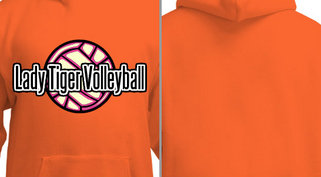 Lady Volleyball Design Idea