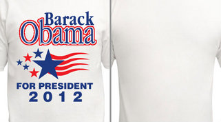 Barack Obama for President Design Idea