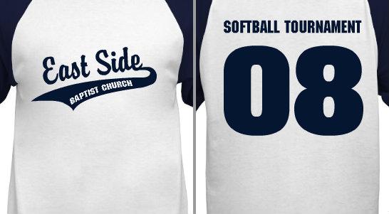 Softball Tournament Design Idea