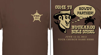 Cowboy VBS Design Idea