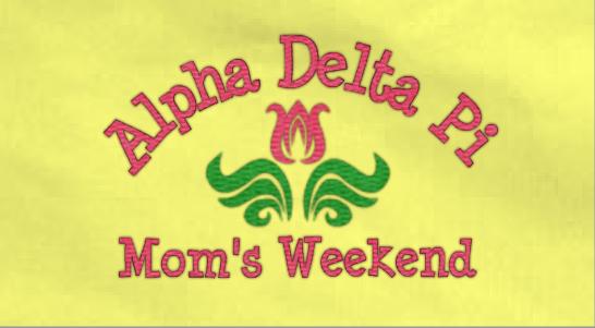 Moms Weekend Design Idea
