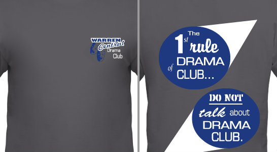Drama Club Design Idea