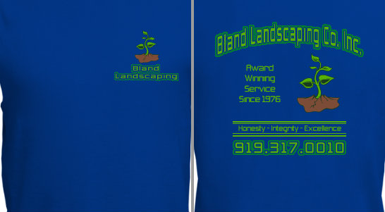 Landscaping Company T-Shirt Design Idea