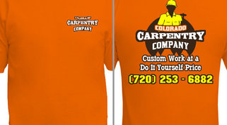 Carpentry Company T-Shirt Design Idea