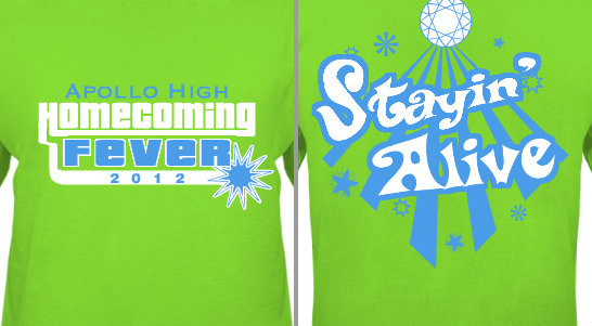 Homecoming Fever Design Idea