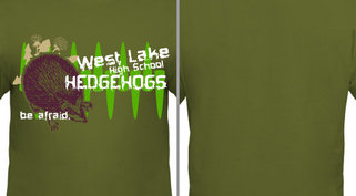 School Spirit Layered Mascot Design Idea