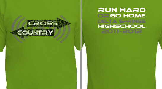 Run Hard or Go Home Design Idea
