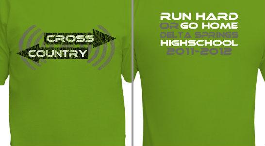 Run Hard or Go Home Design Idea