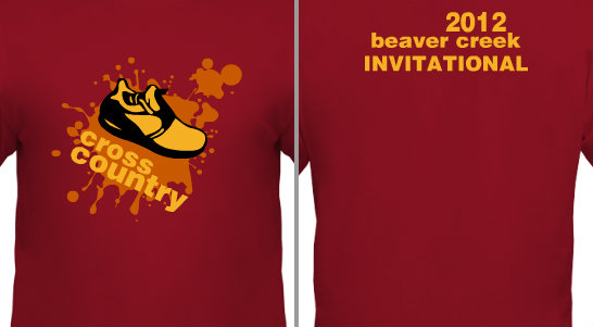 Cross Country Invitational Design Idea