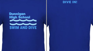 Swim and Dive Team Design Idea