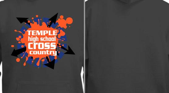 High School Cross Country Team Design Idea