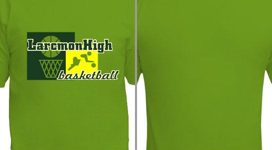 Basketball Graphic Design Idea