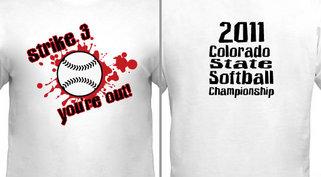 Softball Three Strikes Design Idea