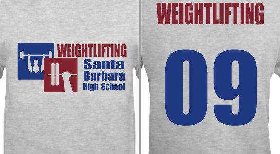 High School Weightlifting Team Design Idea