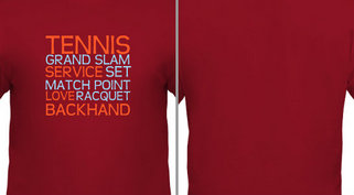 Tennis Grand Slam Design Idea